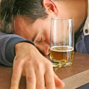 Wpływ alkoholu na sen