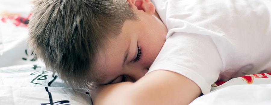 Mój synek moczy się podczas snu